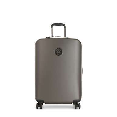 키플링 큐리오시티 롤링 캐리어 미디움 Kipling Curiosity Medium 4 Wheeled Rolling Luggage,Cool Moss