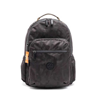 "Seoul Go Large 15"" Laptop Backpack - Camo Black"