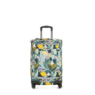 키플링 캐리어 Kipling Youri Spin 55 Printed Small Luggage,Urban Jungle