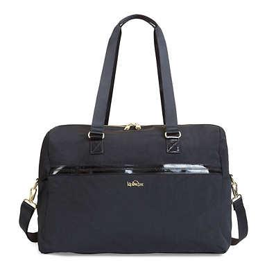 Sasso Weekender Bag - Black Patent Combo