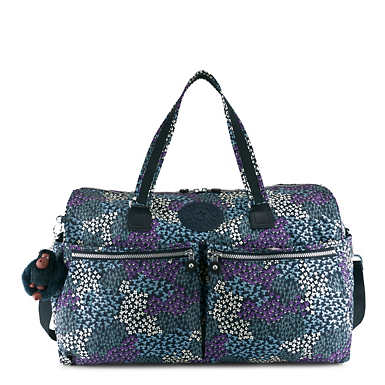 Itska Printed Duffel Bag - Dotted Bouquet