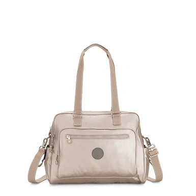 Alanna Diaper Bag - Metallic Glow