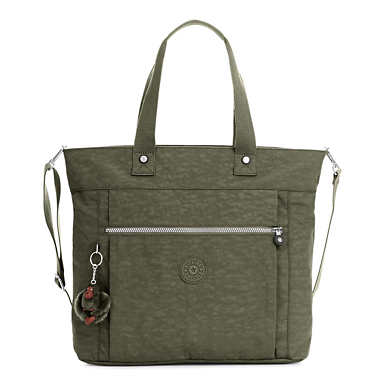 Lizzie Laptop Tote Bag - Jaded Green