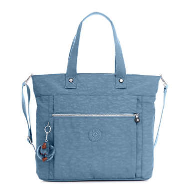 Lizzie Laptop Tote Bag - Blue Bird
