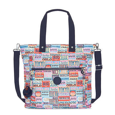 "Lizzie Printed 15"" Laptop Tote Bag"