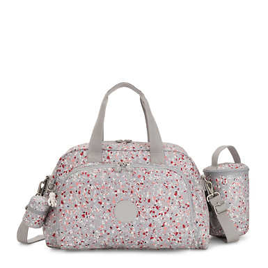 키플링 다이퍼백 Kipling Camama Printed Diaper Bag,Speckled