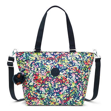 New Shopper Small Printed Tote Bag - undefined