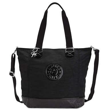 Shopper Combo Tote - Black Combo