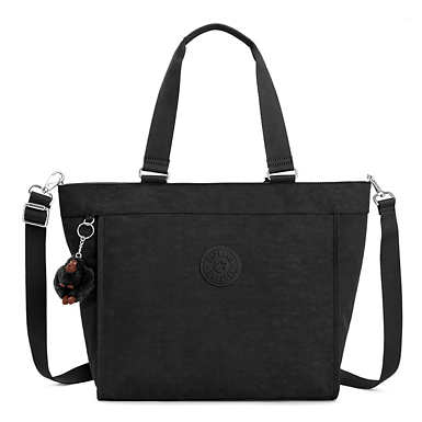 New Shopper Large Tote Bag - Black