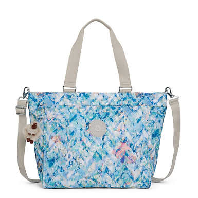 New Shopper Large Printed Tote Bag - Boogie Beach