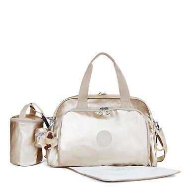 Camama Metallic Diaper Bag - undefined