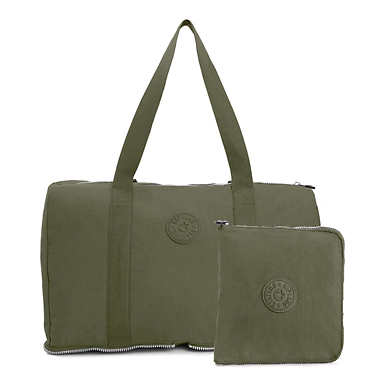 Honest Foldable Duffel Bag - Jaded Green