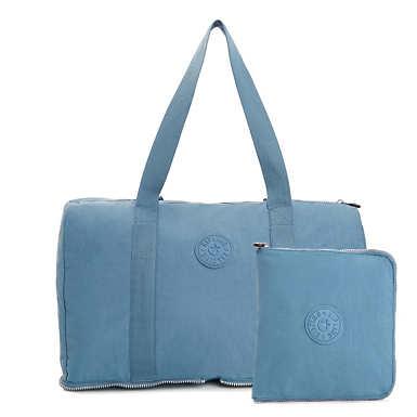 Honest Foldable Duffel Bag - Blue Bird