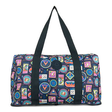 Honest Printed Foldable Duffel Bag