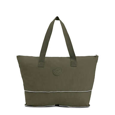 Imagine Foldable Tote Bag - Jaded Green