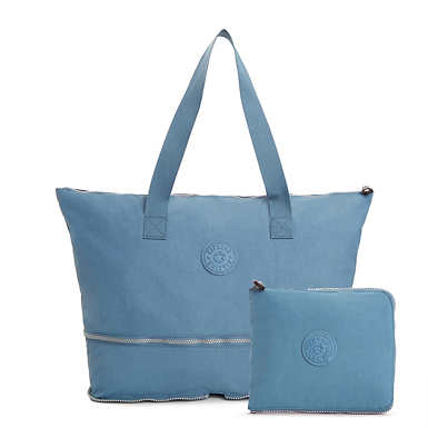 Imagine Foldable Tote Bag - Blue Bird