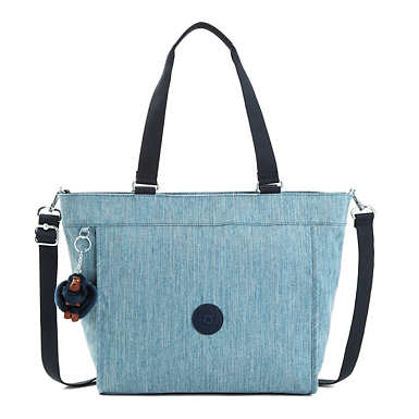 New Shopper Medium Tote Bag - Indigo Blue
