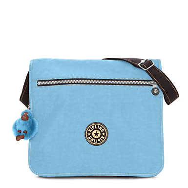 Madhouse Messenger Bag - Blue Grey