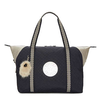 Art Medium Tote Bag - Night Blue Q BL