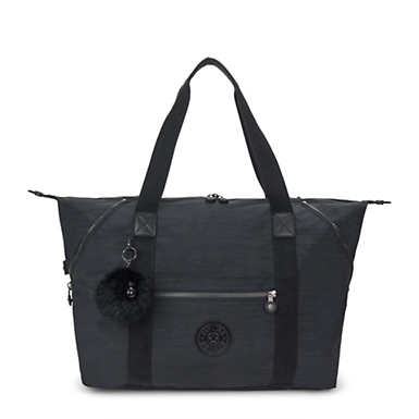 Art Medium Tote Bag - True Dazz Black