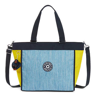 New Shopper Large Tote Bag - Indigo Blue