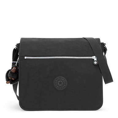 Loftin Messenger Bag - Black