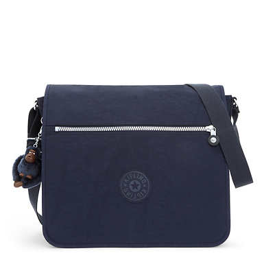 Loftin Messenger Bag - True Blue