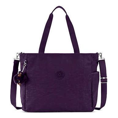 Lindsey Tote Bag - Deep Purple