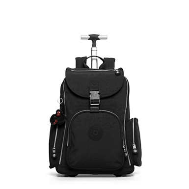 Alcatraz II Large Rolling Laptop Backpack - Black Classic