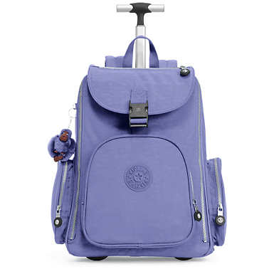 Alcatraz II Large Rolling Laptop Backpack - Bold Purple