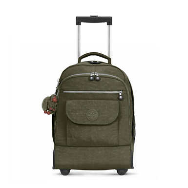 Sanaa Large Rolling Backpack - Jaded Green