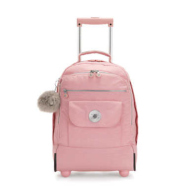 Sanaa Large Rolling Backpack - Bridal Rose