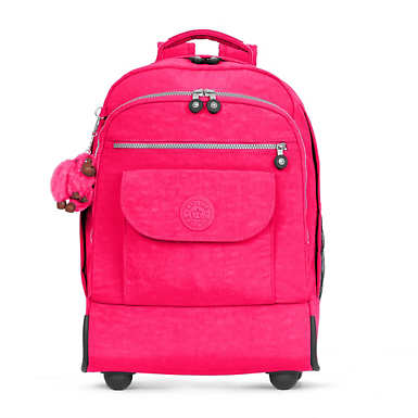 Sanaa Large Rolling Backpack - Surfer Pink