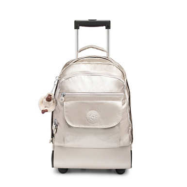 d88726981b Sanaa Large Metallic Rolling Backpack
