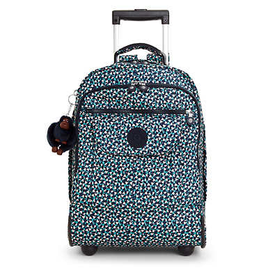 Sanaa Large Printed Rolling Backpack - Think Spring