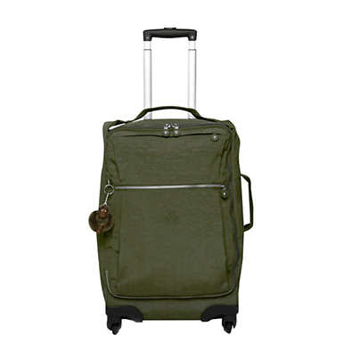 Darcey Small Carry-On Rolling Luggage - Jaded Green