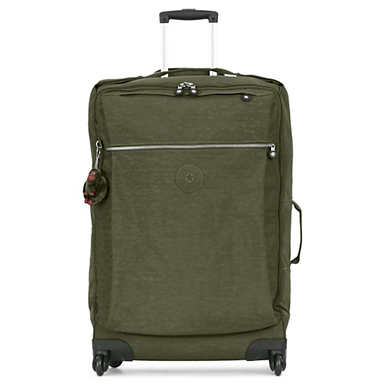 Darcey Large Rolling Luggage - Jaded Green
