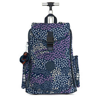 Alcatraz II Printed Rolling Laptop Backpack