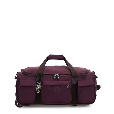 Kipling DiscoverSmall Carry-On Rolling Luggage Duffel