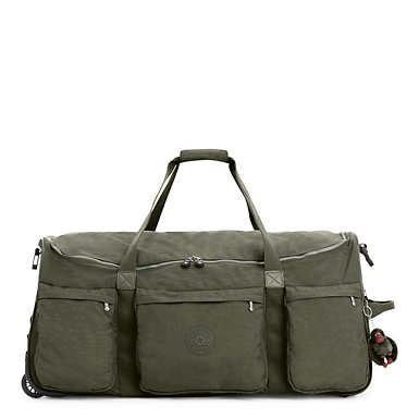 Discover Large Rolling Luggage Duffel - Jaded Green