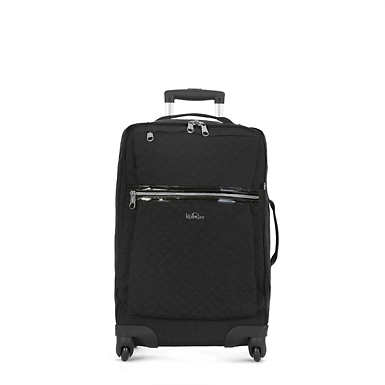 Darcey Small Carry-On Rolling Luggage - Black