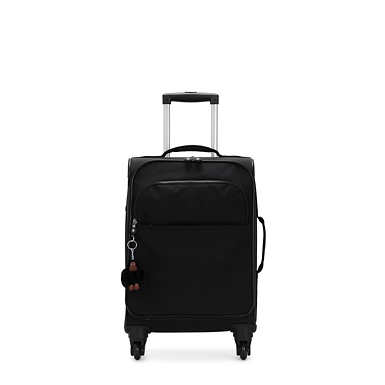 Parker Small Rolling Luggage - Black Tonal Zipper