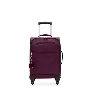 키플링 캐리어 스몰 Kipling Parker Small Rolling Luggage,Dark Plum Tonal