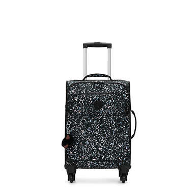 Parker Small Printed Rolling Luggage - Sprinkled Dots