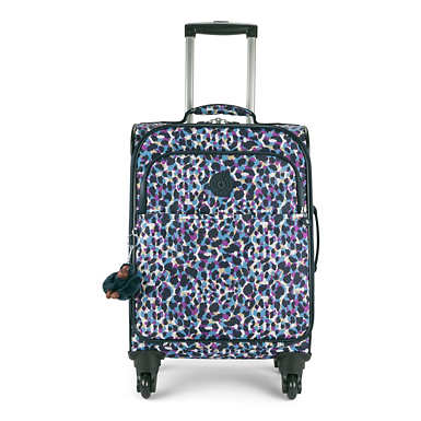 Parker Small Printed Wheeled Carry-On Luggage - Blended Geos