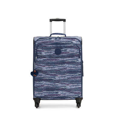Parker Medium Printed Rolling Luggage - Tile Purple