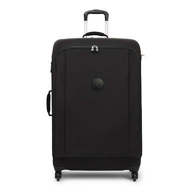 Super Hybrid Large Rolling Luggage - Dazz Black
