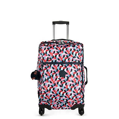 Darcey Small Printed Carry-On Rolling Luggage - Forever Tiles