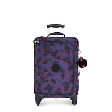 Cyrah Small Printed Rolling Luggage - Floral Night