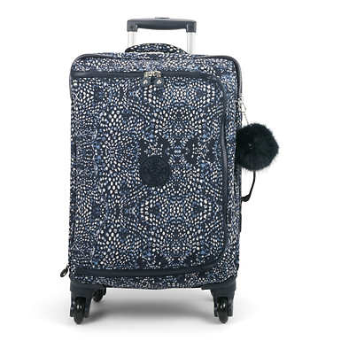 Cyrah Small Printed Rolling Luggage - Soft Feather